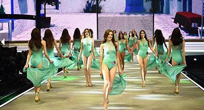 Elidor Miss Turkey 2015 Güzellik Yarışması dün akşam yapıldı.