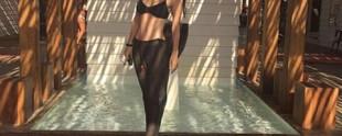 2003 yılında ikinci çocuğu Derin Talu'yu kucağına alan Samyeli, doğumdan iki günde önce çekilmiş bikini fotoğrafını paylaştı.