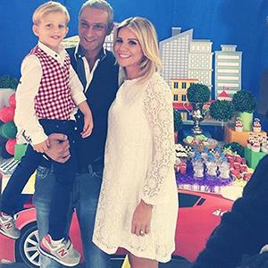 Esra Erol'dan Ömer için baby shower, İdris Ali için doğum günü