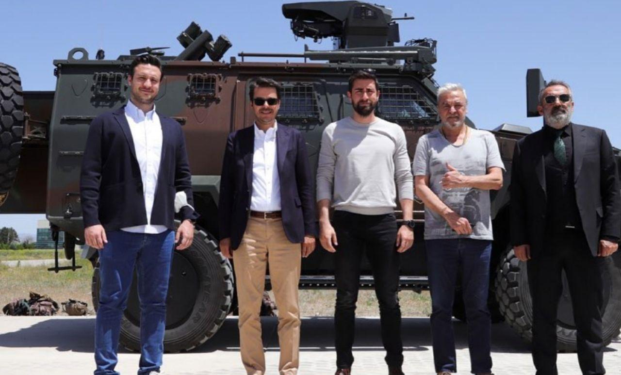 Teşkilat dizisinde büyük baskın sahnesi öncesi TRT Genel Müdürü İbrahim Eren'den ziyaret